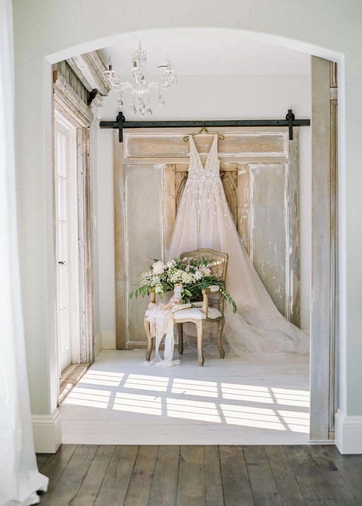Wedding dress styled shoot