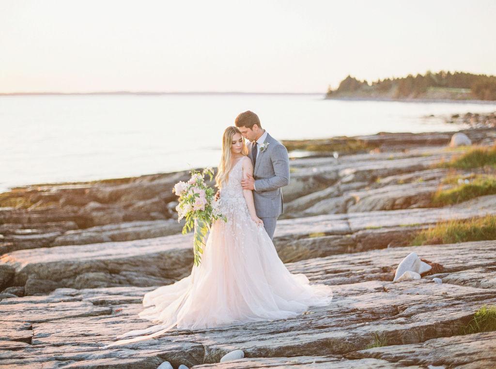Coastal wedding - Nova Scotia styled wedding shoot